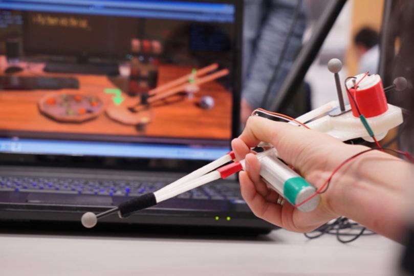 SIGGRAPH Asia 2015レポート:「Haptic」な技術で身体を遊ぶ