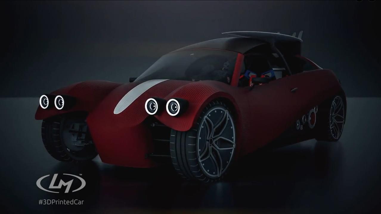 3Dプリント自動車で、未来のクルマづくりが変わりそう!