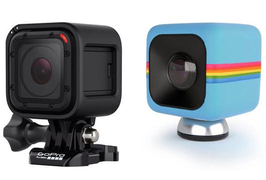 キューブ型アクションカム「GoPro HERO4 Session」が「Polaroid Cube」に似てるだろ!と訴えられる
