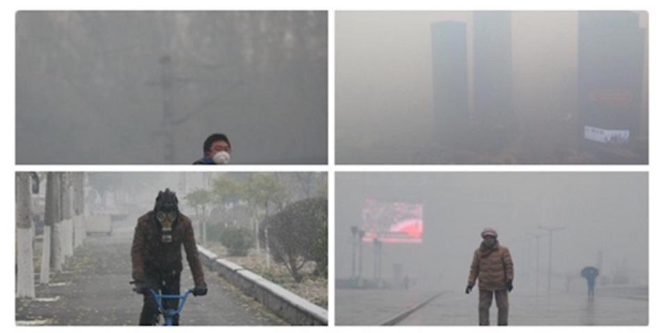 PM 2.5濃度が1400…!中国国営通信も「世も末」報道