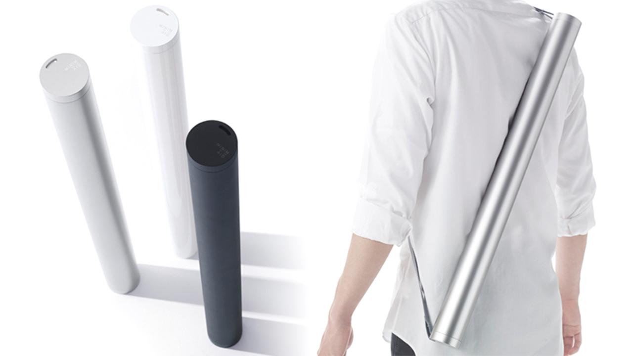 緊急時のためにデザインされた日本発の「筒」