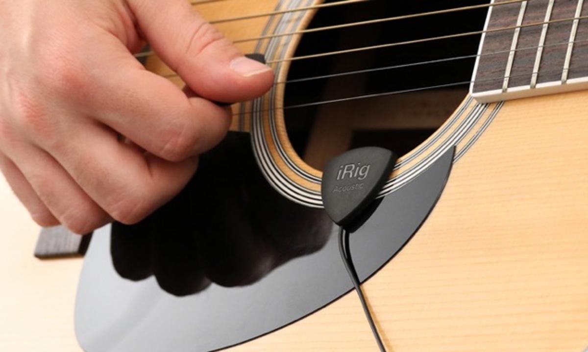 アコギの録音が捗ること間違いなし「iRig Acoustic」