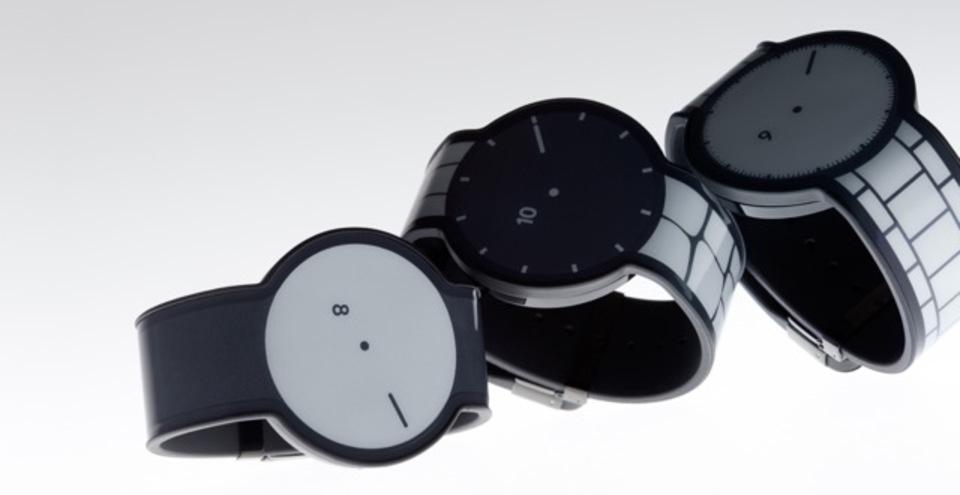 電子ペーパーでフェイスが変わる「FES Watch」発売