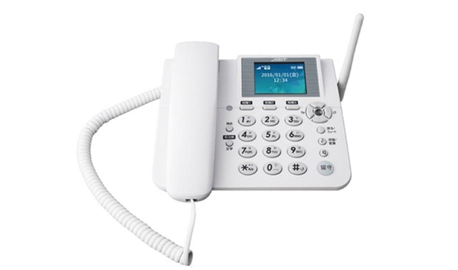 この固定電話っぽいの、SIMフリーで持ち運べるぞ!