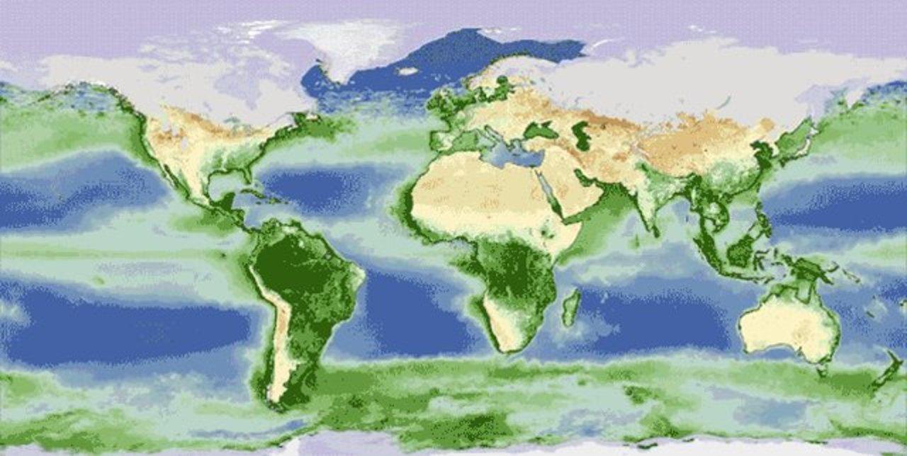 地球も、呼吸している