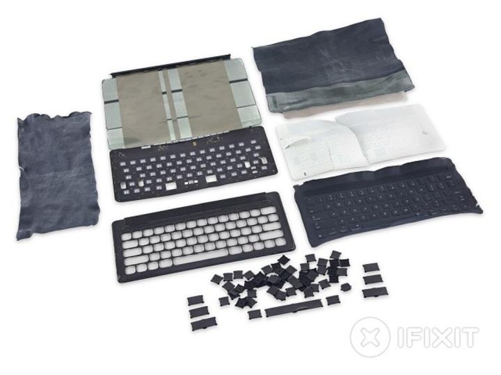 壊さないでね。iPad ProのSmart Keyboard、修理は難しそう