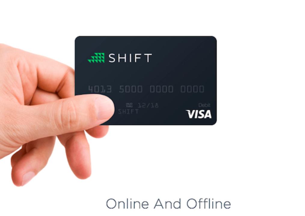Bitcoinを世界中で使えるクレジットカード「Shift Card」