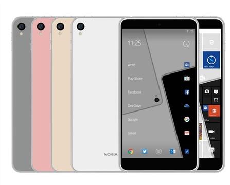ノキアの復活スマホ? AndroidとWindows 10 Mobileの両モデルを用意か
