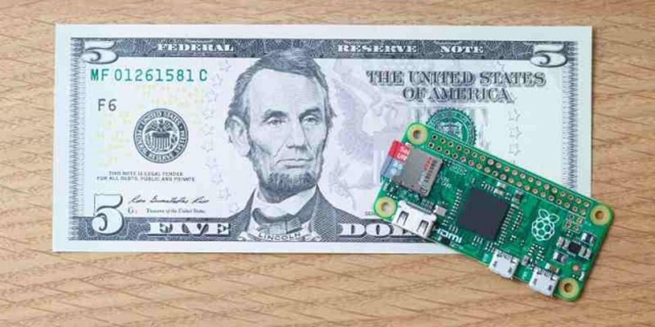 1,000円でお釣りが来るコンピューター「Raspberry Pi Zero」が品薄状態!