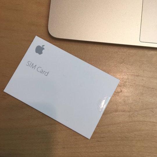 Apple SIMがついに日本上陸! auのプランで使えますよ!
