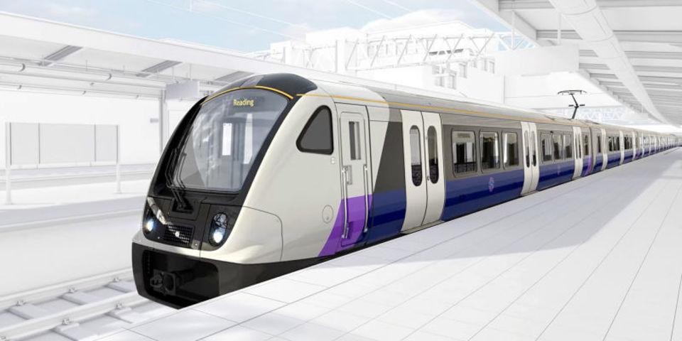 ロンドンに開通する新路線クロスレールの車両デザイン公開、WiFiと4G完備