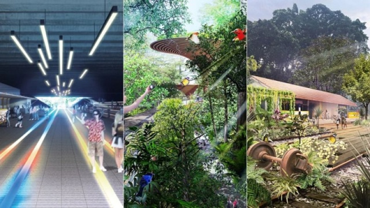 国を縦断する24kmの廃線が、緑あふれる憩いの場へ。日本企業がシンガポールのデザインコンペで優勝