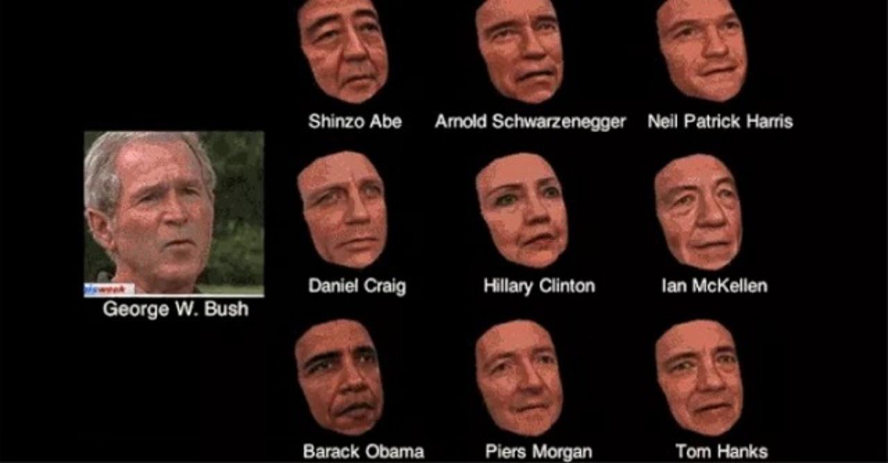 バラク・オバマ大統領をブッシュ化する技術、開発される
