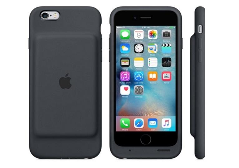 まさかの純正! iPhone 6s/6用バッテリー内蔵ケースをアップルが販売開始