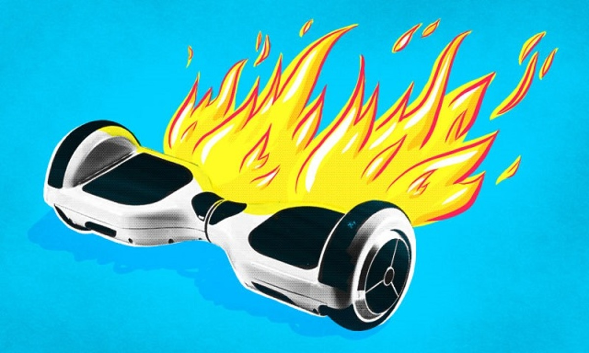 ホバーボード、燃える。危険性を米政府機関が調査中