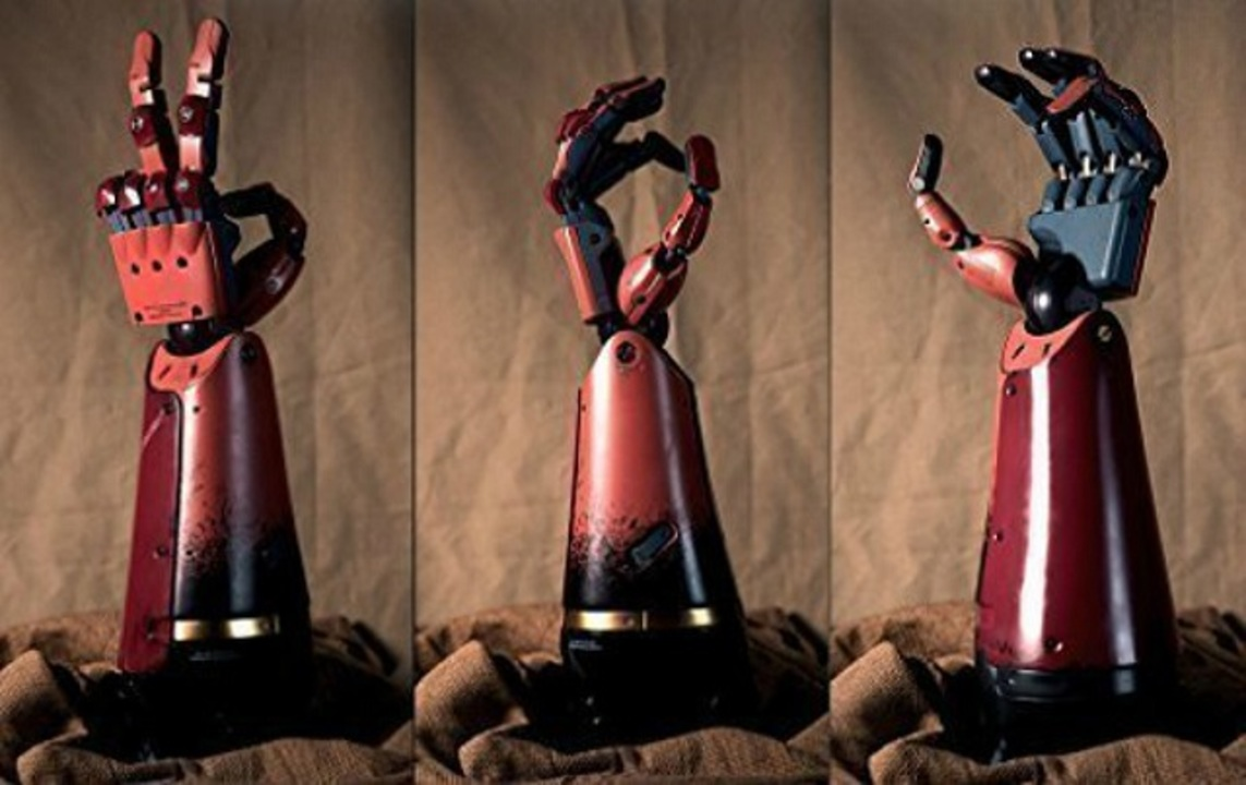コナミ、腕を失くしたゲーマーにメタルギアソリッドのあの義手を開発中