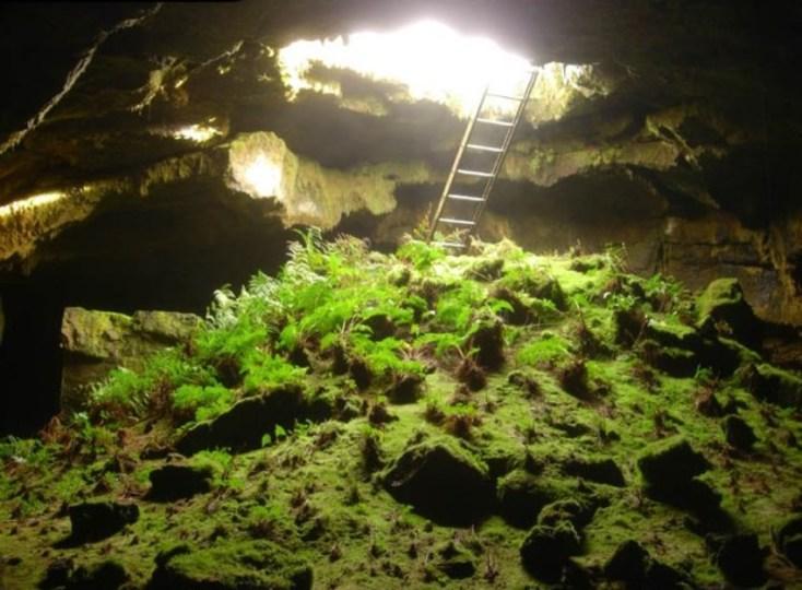 知られざるカリフォルニアの秘境。地下に広がる氷世界が美しい洞窟探検
