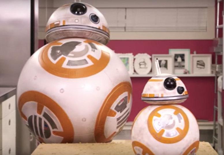 今から作れば映画公開にギリ間に合う! BB-8ケーキの作り方(2日かかります)