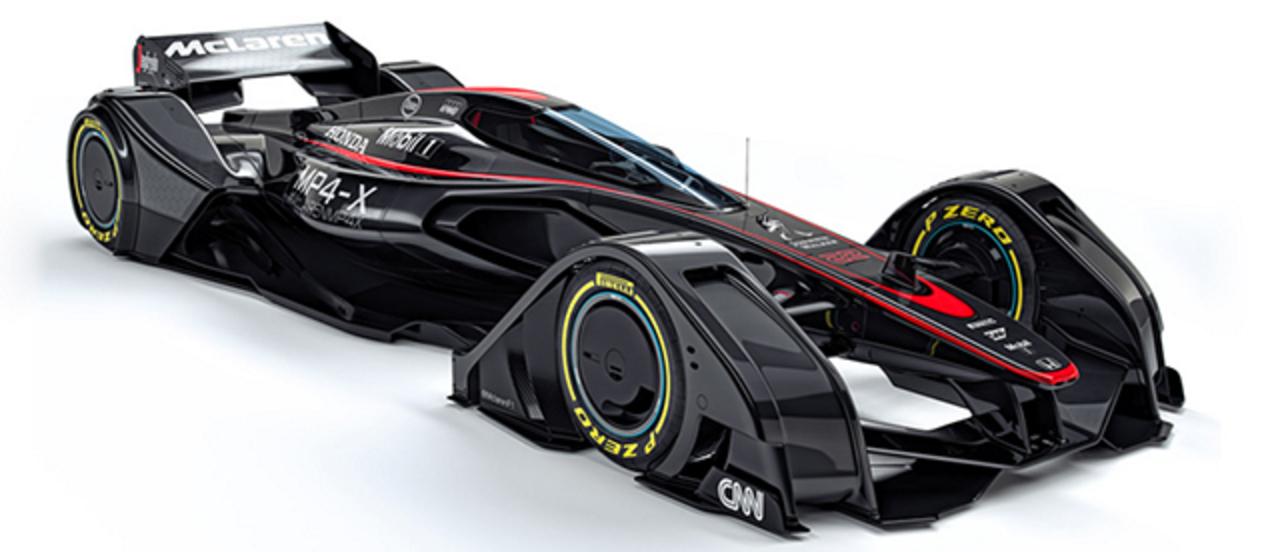 マクラーレンが超未来型F1カーのコンセプトを発表