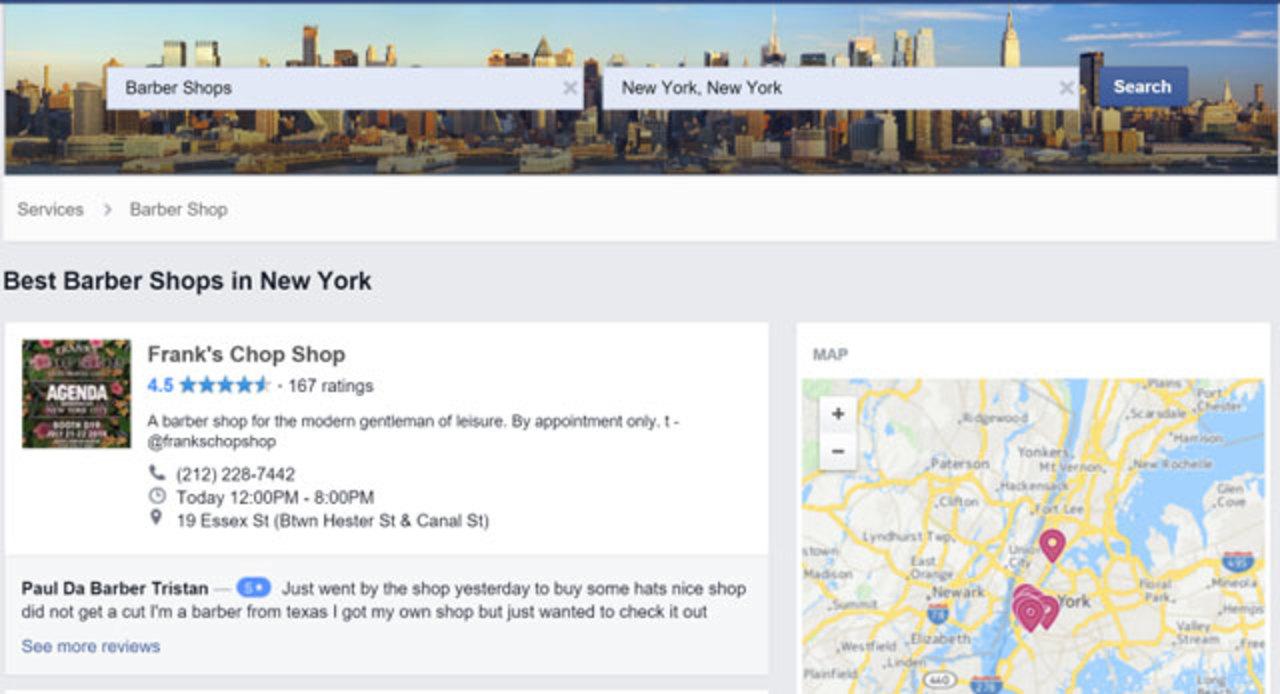 フェイスブック版Yelp、テスト中みたい。今からでYelpに対抗できる?