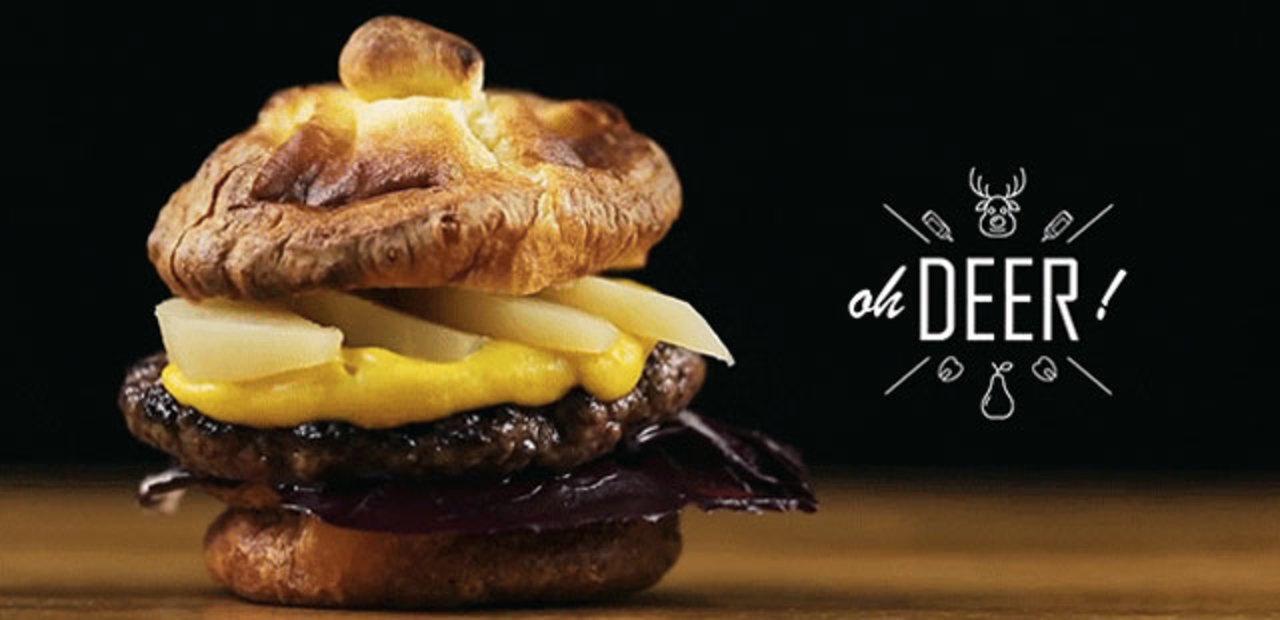 25日に食べたい? クリスマスをテーマにしたハンバーガー