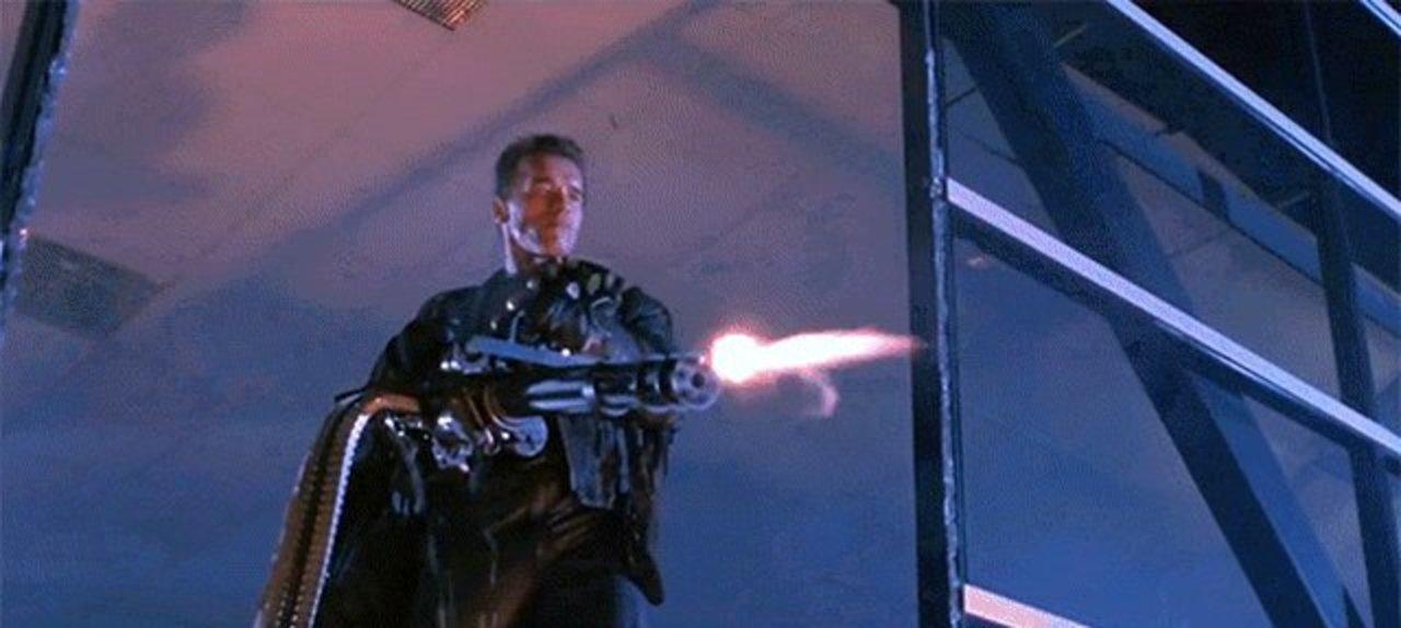 実は「ターミネーター2」のあの武器は使い回されていた