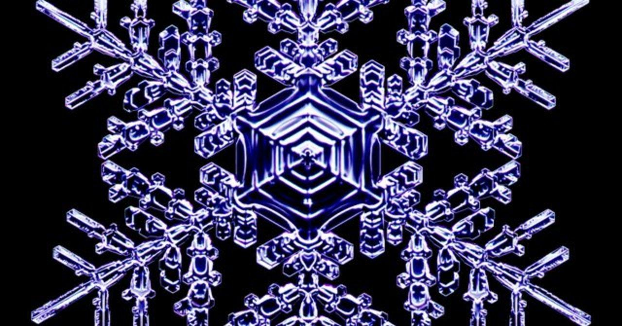 宝石みたい。研究者が数年にわたり記録した雪の結晶たち