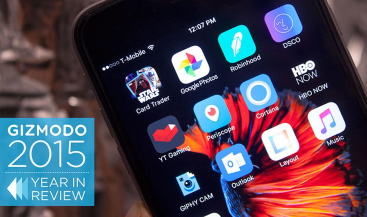 2015年のベストアプリ20選