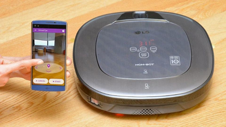 仮想現実で部屋がキレイに? LGのお掃除ロボットHOM-BOT Turbo+に新機能