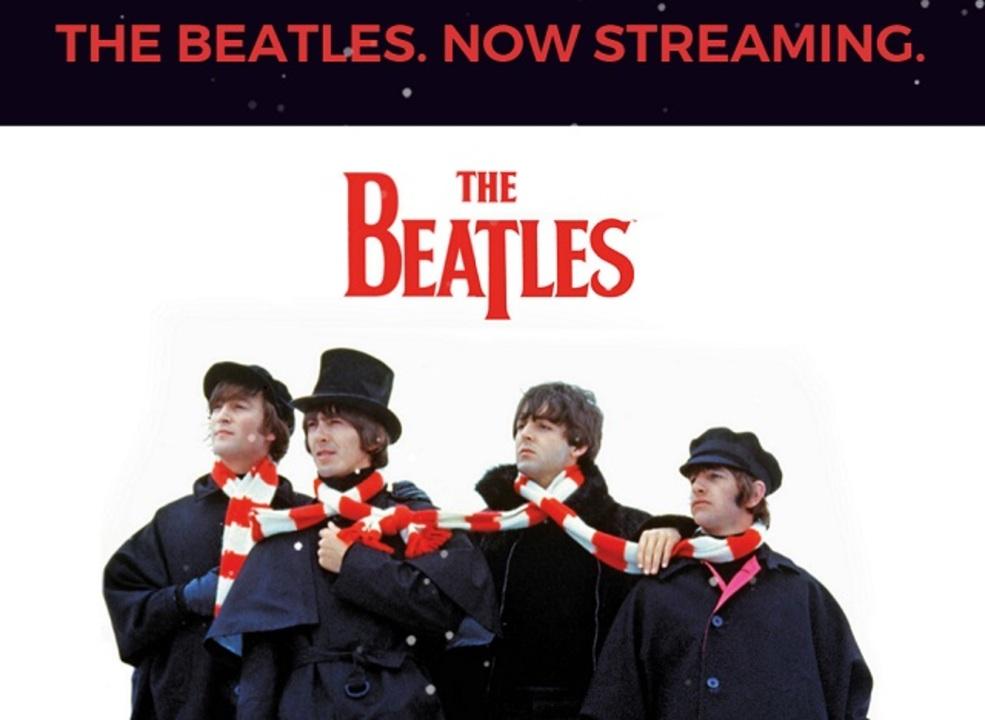 イブの奇跡。ビートルズがApple Musicなどでストリーミング配信開始!
