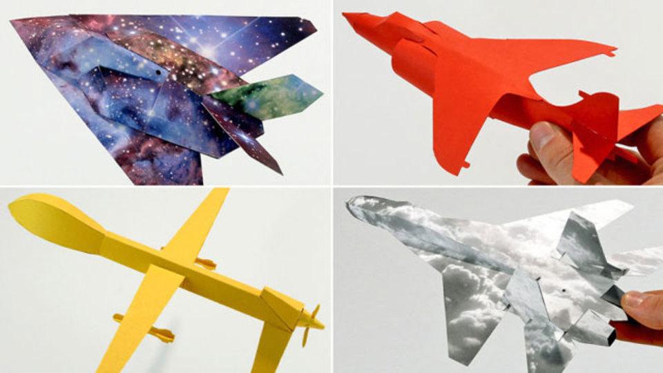 こんな素敵な紙飛行機、真剣に作ったことありますか?