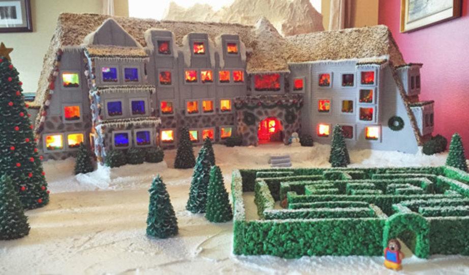 クリスマス終っても食べちゃだめー! 作り込みがすごいお菓子のお家
