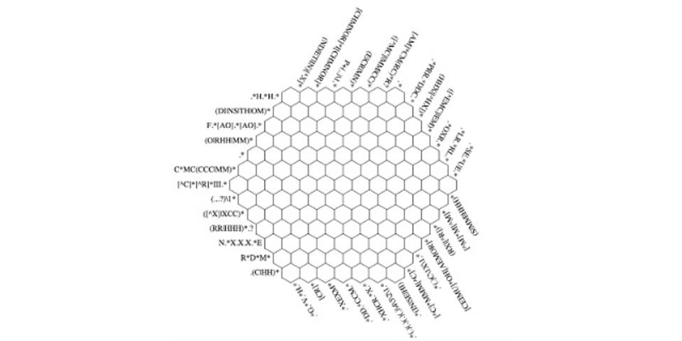 解ける? 正規表現の超難解クロスワードパズル