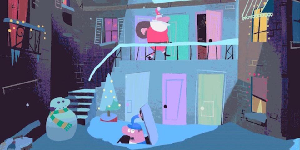 グーグルからの贈りものは360度のアニメ。スマホで楽しめるクリスマスストーリー「Special Delivery」が公開されたよ