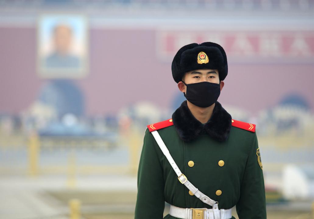 北京がスモッグにより別な意味で「ホワイトクリスマス」を迎える