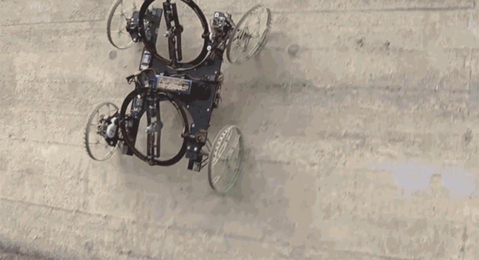 ディズニーリサーチ、壁を上るロボットを開発