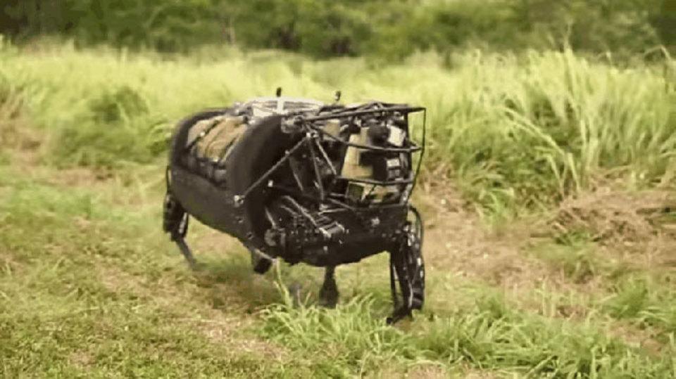 さようなら、DARPAのあの四つ足ロボット!