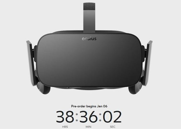 ついに「Oculus Rift」完成。1月7日午前1時予約開始、早い者勝ち!