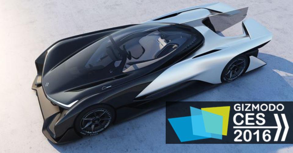 新興EVメーカーFaraday Futureが発表の「FFZERO1」は1,000馬力!