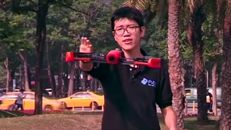 Apple Watchでドローンを操作する技術、台湾で開発される