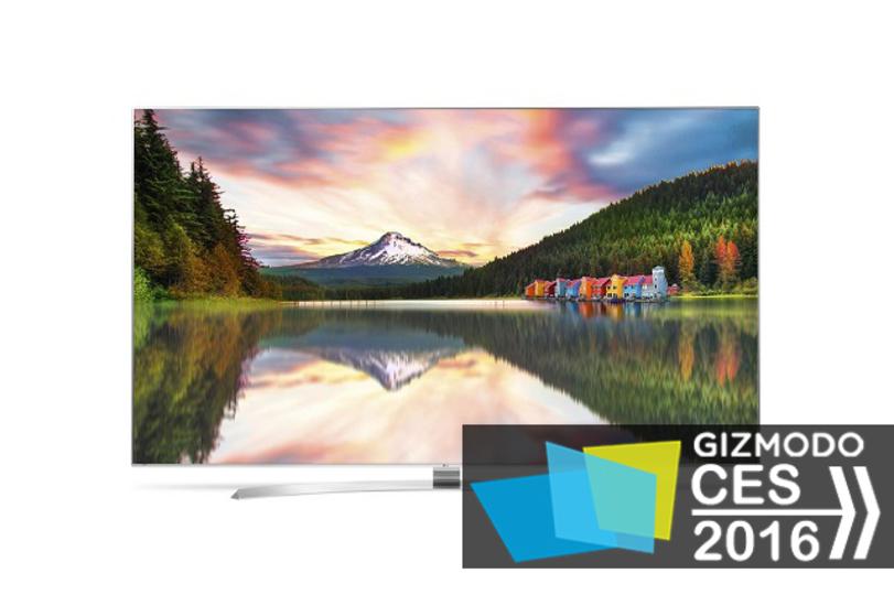 LGの新型フラッグシップテレビは8K/HDRでくっきりキレイ