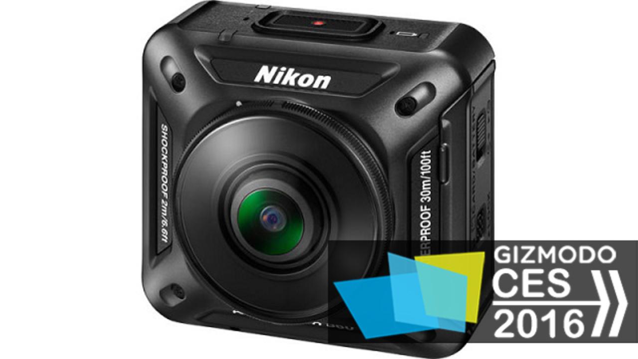ついにニコンが。前後のカメラで360度を4K撮影可能なアクションカメラ