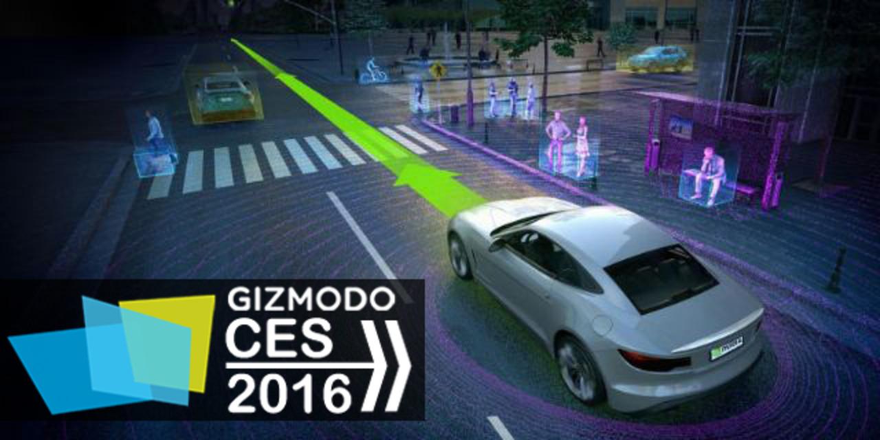 全ての車にスパコンの頭脳を。NVIDIAが自動運転車向け演算システム発表