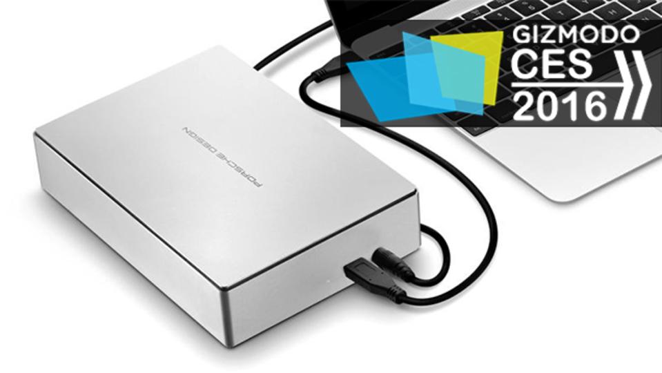 12インチMacBookの悩みに、Porsche Designの外付けHDD