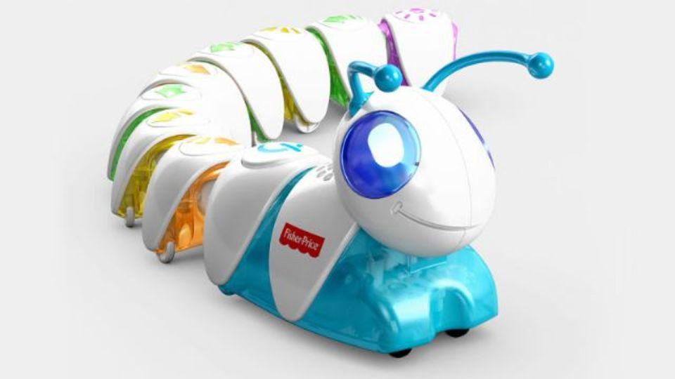 幼稚園児にもプログラミングを。いも虫おもちゃ「Code-a-Pillar」