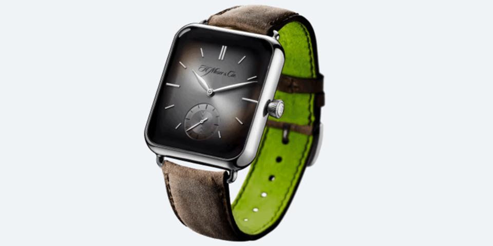 Apple Watchにそっくり、高級時計「アルプ・ウォッチ」が色々と挑発的