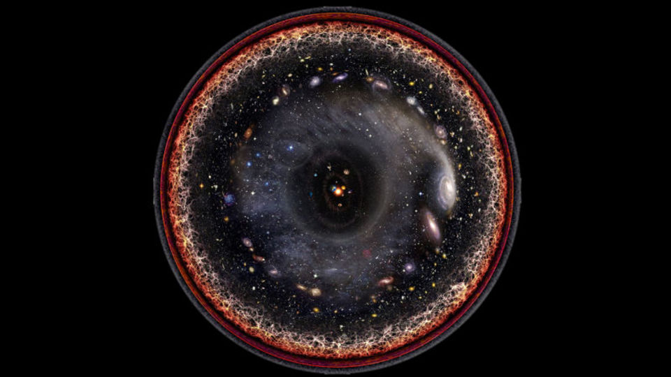 壮大な宇宙をギュッと。一枚の絵にするとこんなに神秘的