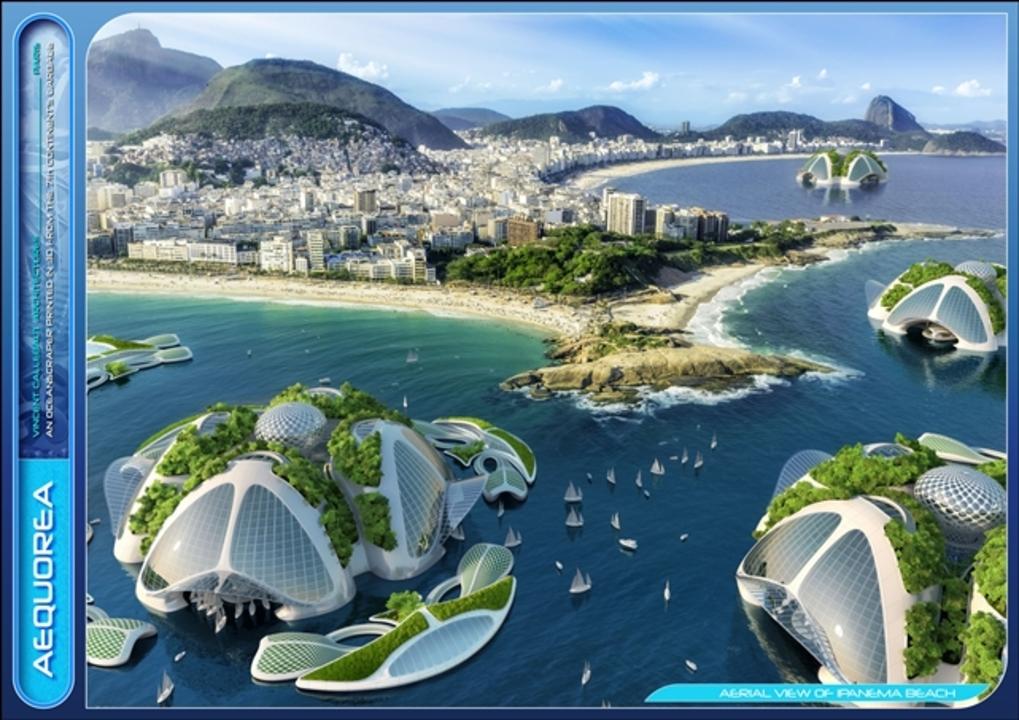 ゴミが3Dプリントで大変身。どこまでもエコな海上都市の建設案 ...