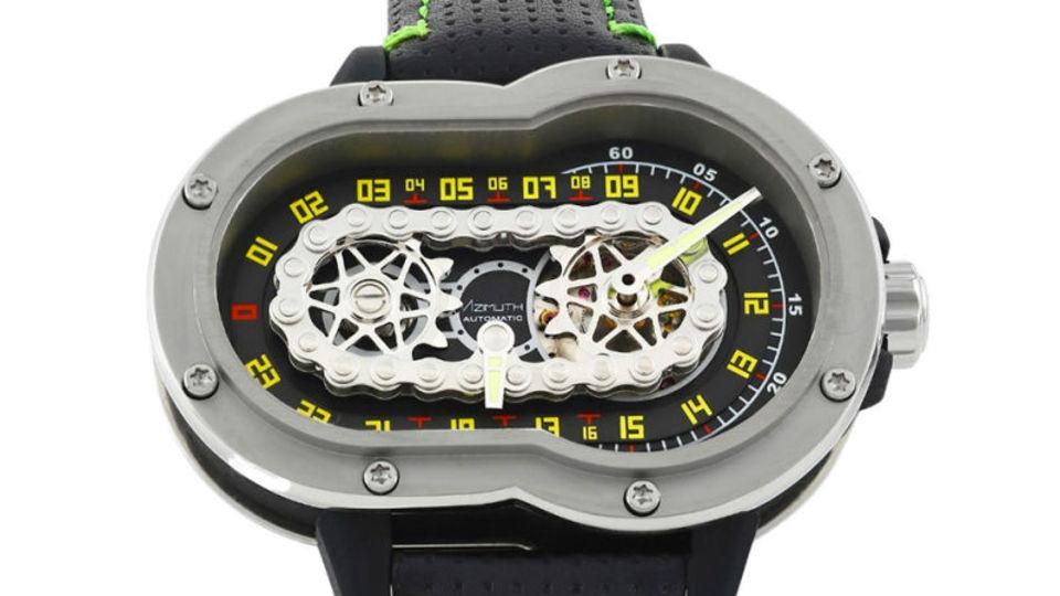 どうしてこんなデザインに...? 一風変わった高級デジタル腕時計