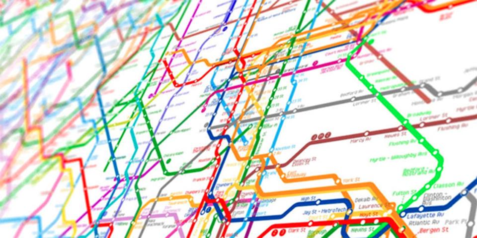 世界中のメトロ路線図を繋げたら、こうなった